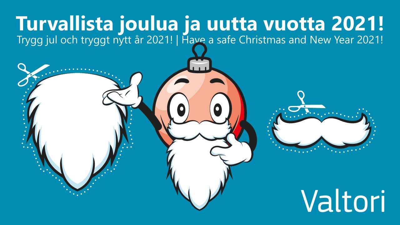 Turvallista joulua ja uutta vuotta 2021!